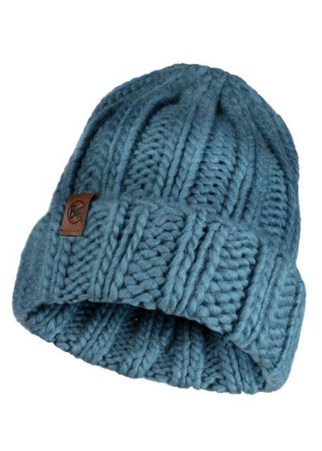 Buff---Strickmütze-Vanya-für-Erwachsene---Blau