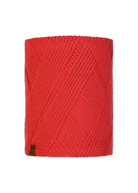 Buff---Strick-Rundschal-Polar-Raisa-für-Erwachsene---Rot