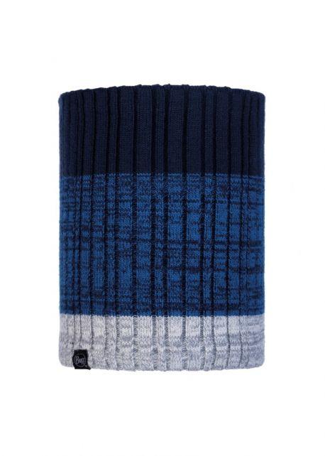Buff---Strick-Rundschal-Polar-Igor-für-Erwachsene---Nachtblau