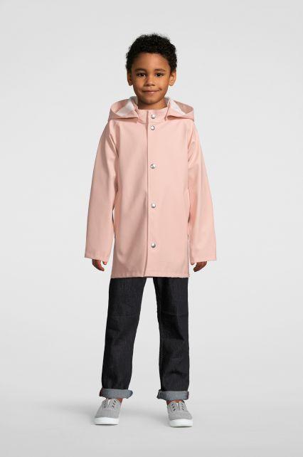 Stutterheim---Regenjacke-für-Kinder---Mini-Stockholm---Blassrosa