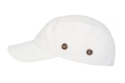 Hatland---Wasserdichte-UV-Baseballkappe-für-Herren---Reef---Weiß