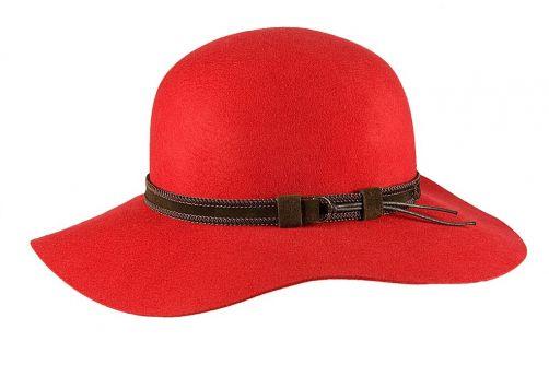 Hatland---Wollhut-für-Damen---Leonora---Rot
