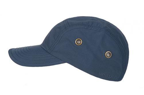 Hatland---Wasserdichte-UV-Baseballkappe-für-Herren---Reef---Schieferblau