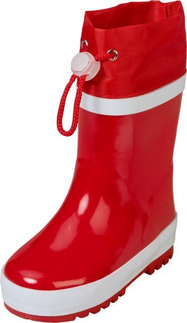 Playshoes---Gummistiefel-mit-Zugband---Rot