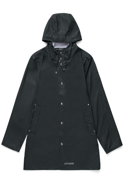Stutterheim---Leichtgewicht-Regenjacke-für-Erwachsene---Stockholm-LW---Schwarz