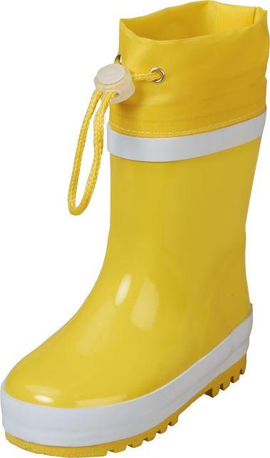 Playshoes---Gummistiefel-mit-Zugband---Gelb