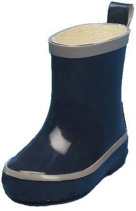 Playshoes---Kurze-Gummistiefel---Dunkelblau