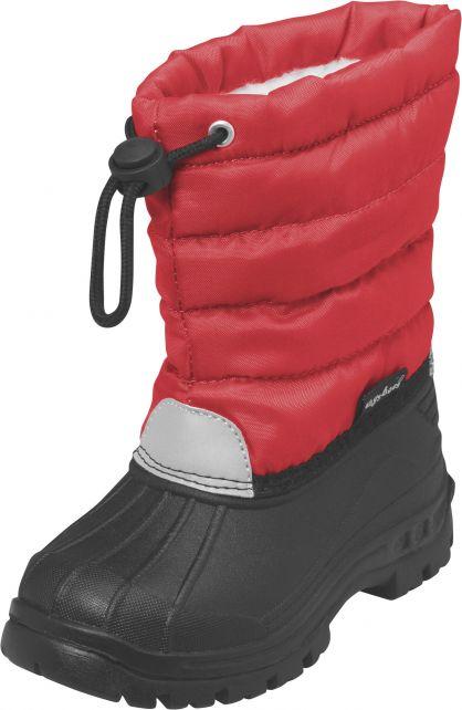 Playshoes---Winterstiefel-mit-Zugband---Rot