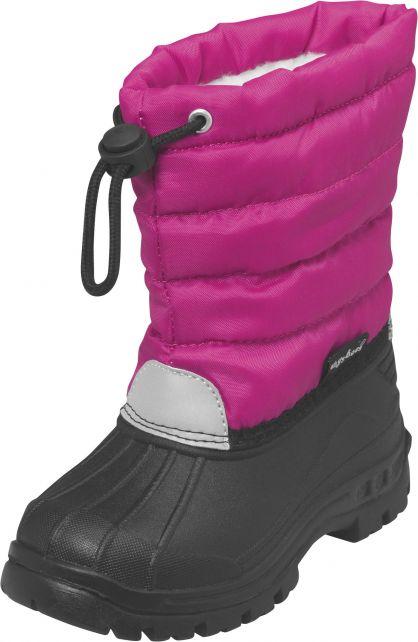 Playshoes---Winterstiefel-mit-Zugband---Rosa