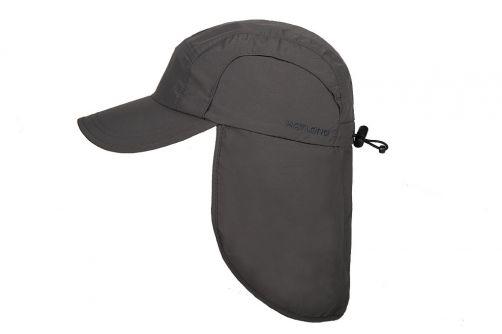 Hatland---Kühlende-UV-Sonnenkappe-mit-Nackenschutz-für-Herren---Malcolm---Anthrazit