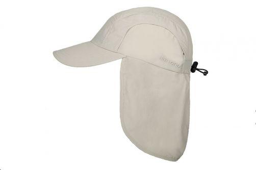 Hatland---Kühlende-UV-Sonnenkappe-mit-Nackenschutz-für-Herren---Malcolm---Pastellweiß