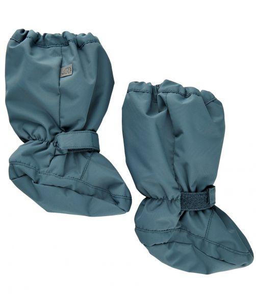 CeLaVi---Winterfüßlinge-mit-Fleece-Futter-für-Babys---Solid---Eisblau