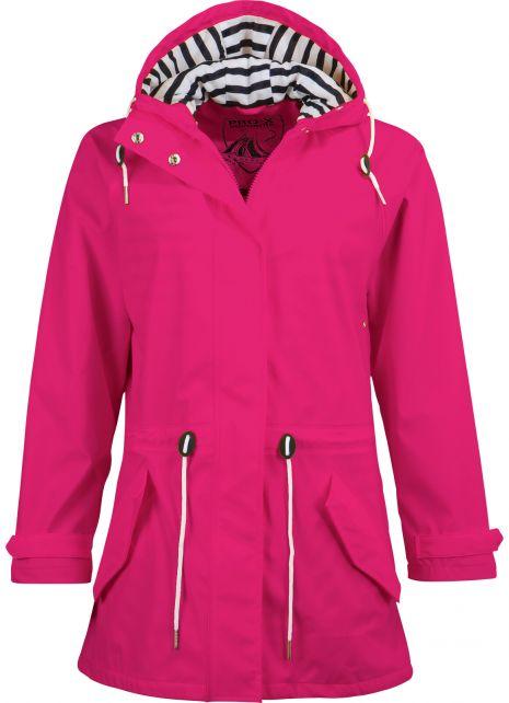 Pro-X-Elements---Regenjacke-mit-Taillenzug-für-Damen---Marit---Cherry