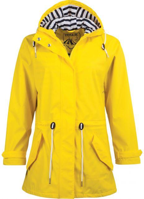 Pro-X-Elements---Regenjacke-mit-Taillenzug-für-Damen---Marit---Gelb