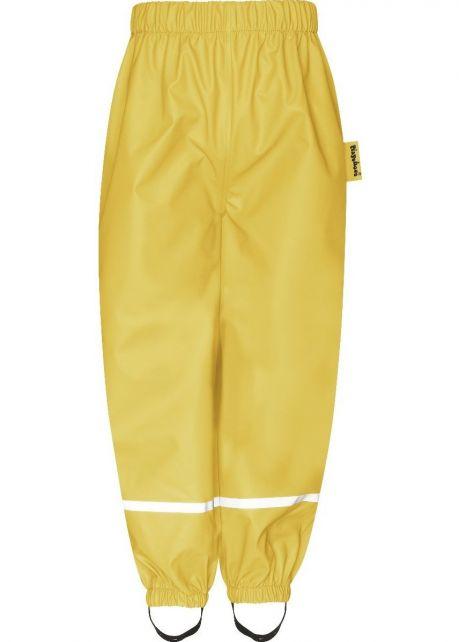 Playshoes---Regenhose-für-Kinder---Gelb
