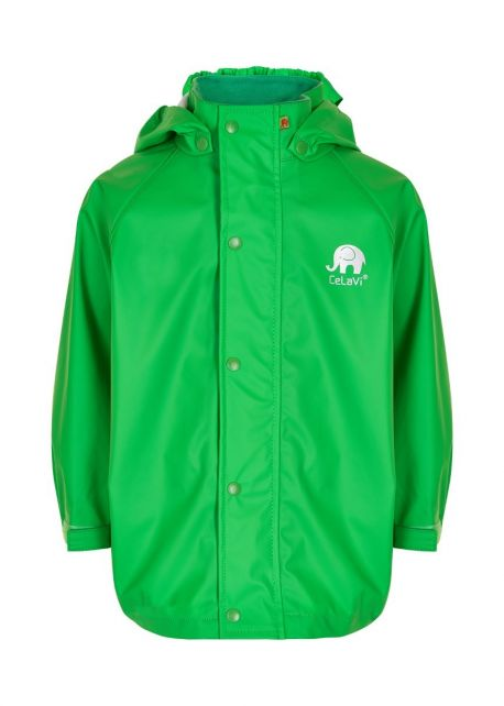 CeLaVi---Regenjacke-für-Kinder---Grün