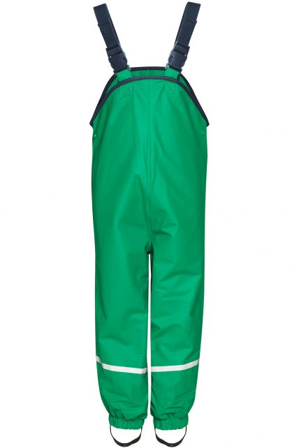 Playshoes---Regenlatzhose-mit-Fleece-Futter---Grün