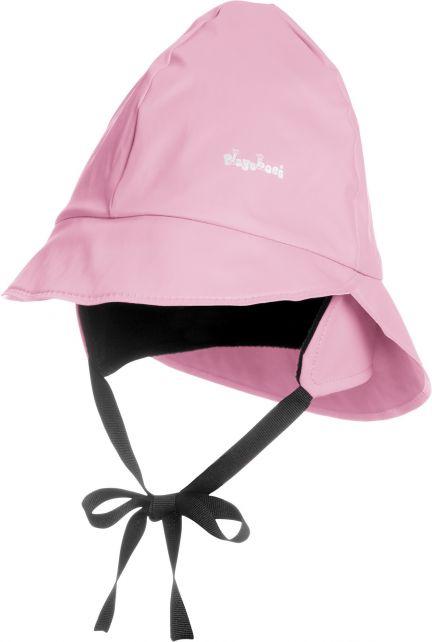 Playshoes---Regenmütze-mit-Fleecefutter---Hellrosa