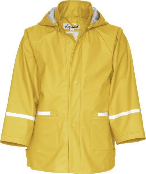 Playshoes---Regenjacke-Basic---Gelb