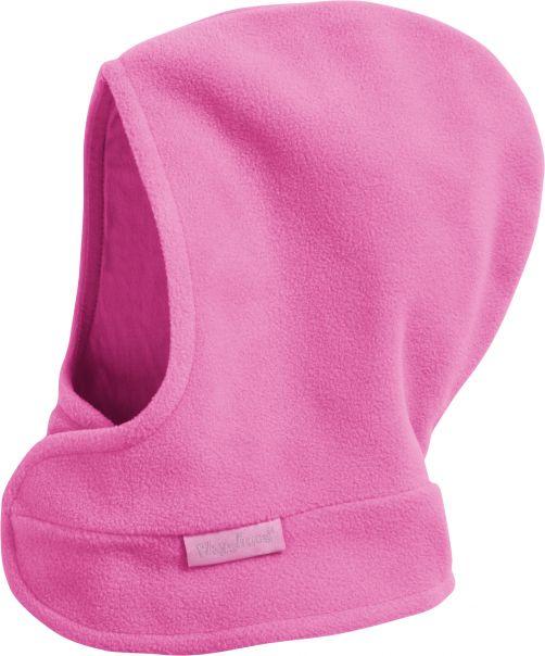 Playshoes---Fleece-Mütze-mit-Klettverschluss---Rosa