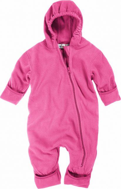 Playshoes---Fleece-Overall-mit-Kapuze---Rosa
