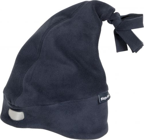 Playshoes---Fleece-Mütze-mit-Reflektor---Dunkelblau