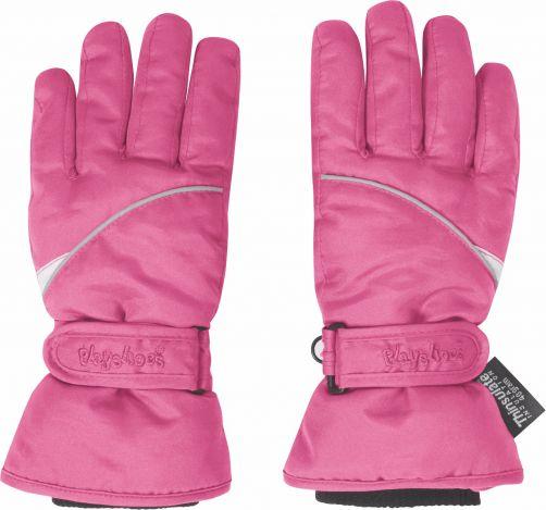 Playshoes---Winter-Handschuhe-mit-Klettverschluss---Rosa