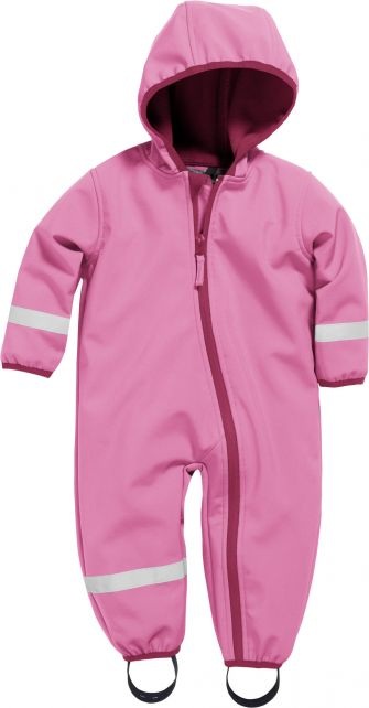 Playshoes---Softshell-Overall-für-Babys-und-Kleinkinder---Rosa