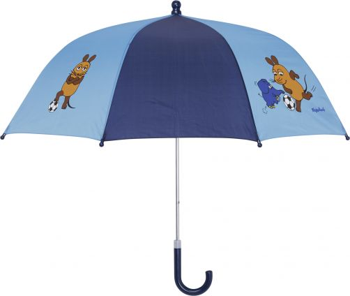 Playshoes---Kinder-Regenschirm-mit-Maus-&-Elefant---Rosa