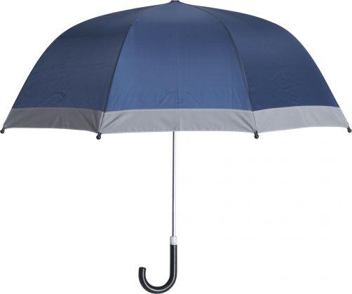 Playshoes---Kinder-Regenschirm-mit-Reflektoren---Dunkelblau