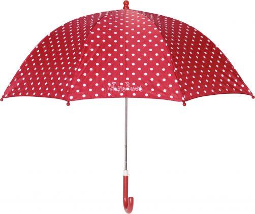 Playshoes---Kinder-Regenschirm-mit-Punkten---Rot