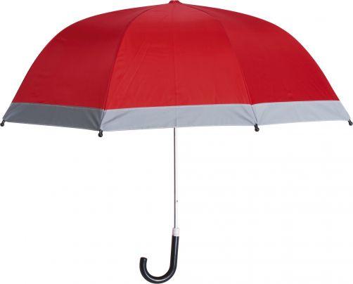 Playshoes---Kinder-Regenschirm-mit-Reflektoren---Rot