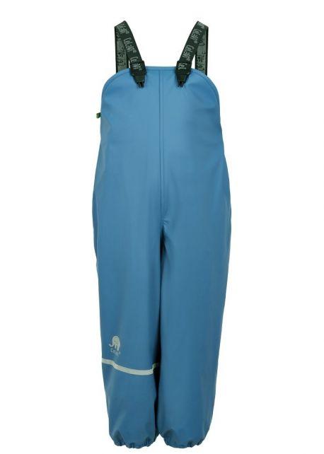CeLaVi---Regenhose-mit-Fleecefutter-für-Kinder---Hellblau