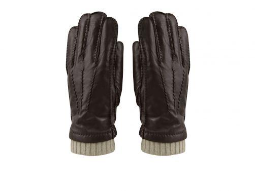 Hatland---Handschuhe-für-Herren---Thalys---Braun