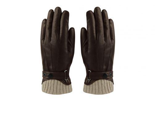 Hatland---Handschuhe-für-Herren---Tygo---Braun