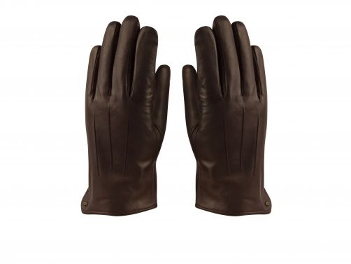 Hatland---Handschuhe-für-Herren---Tiesto---Braun