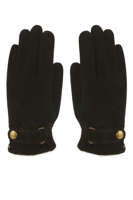 Hatland---Handschuhe-für-Herren---Vjall---Schwarz