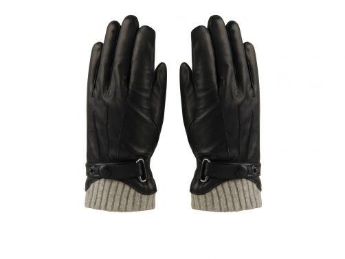 Hatland---Handschuhe-für-Herren---Tygo---Schwarz