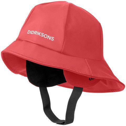 Didriksons---Südwest-Hut-5-für-Kinder---Rot