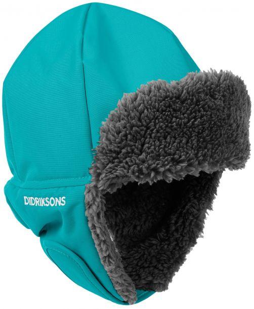 Didriksons---Mütze-4-für-Kinder---Biggles---Grün