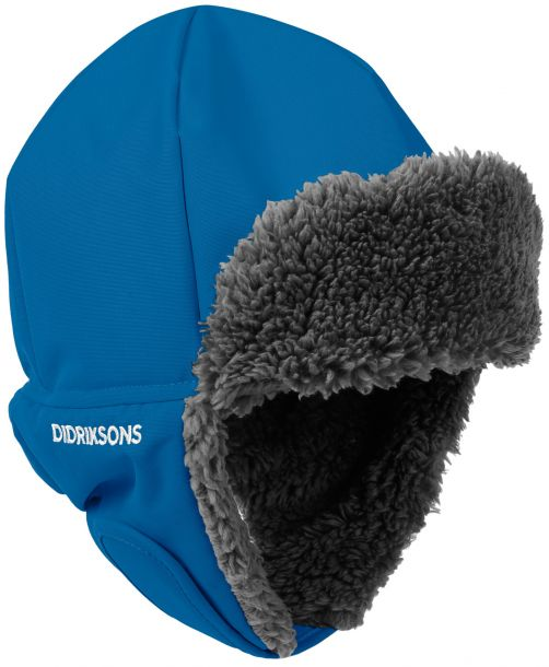 Didriksons---Mütze-4-für-Kinder---Biggles---Blau