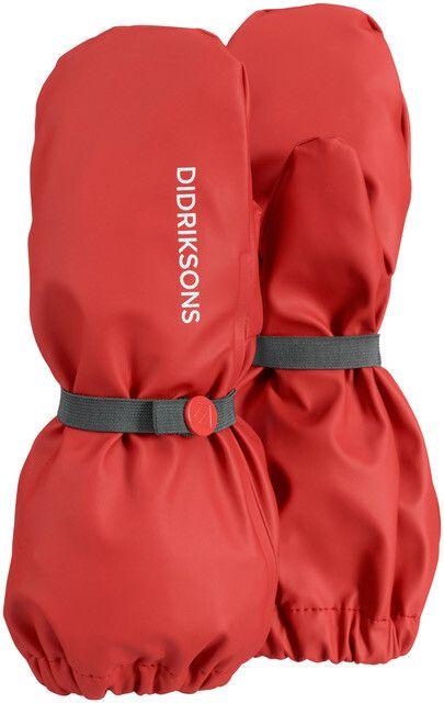 Didriksons---Wasserdichter-Handschuhe-5-für-Babys---Rot