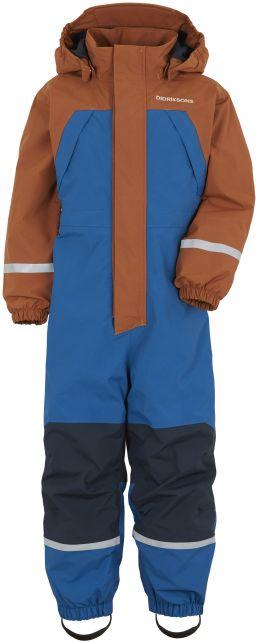 Didriksons---Fleece-Overall-für-Babys---Zeb---Blau