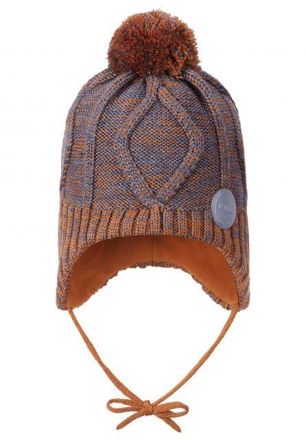 Reima---Beanie-for-babies---Paljakka---Cinnamon-brown