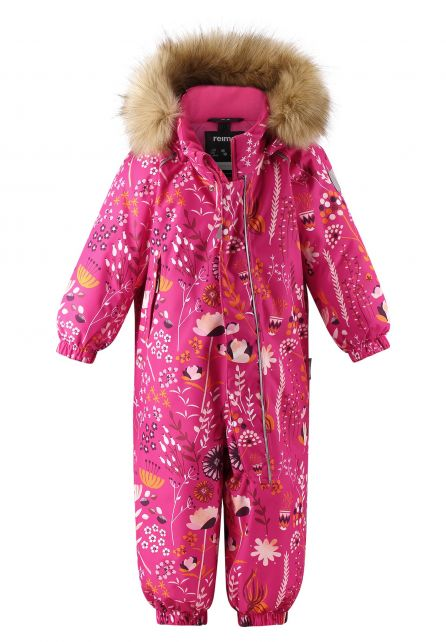 Reima---Schneeanzug-für-Babys---Reimatec---Lappi---Himbeerrosa