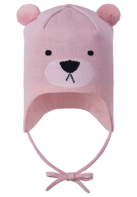 Reima---Beanie-for-babies---Saukkonen---Rosy-pink