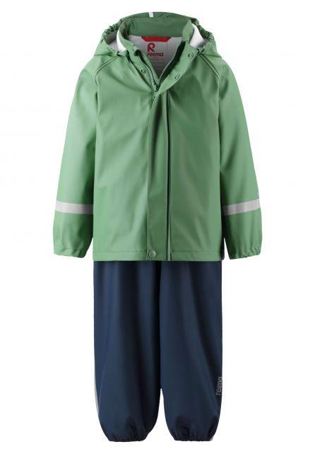 Reima---Regenanzug-für-Kinder---Tihku---Waldgrün