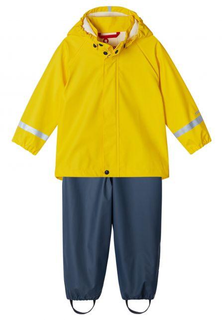 Reima---Regenanzug-für-Kinder---Tihku---Gelb