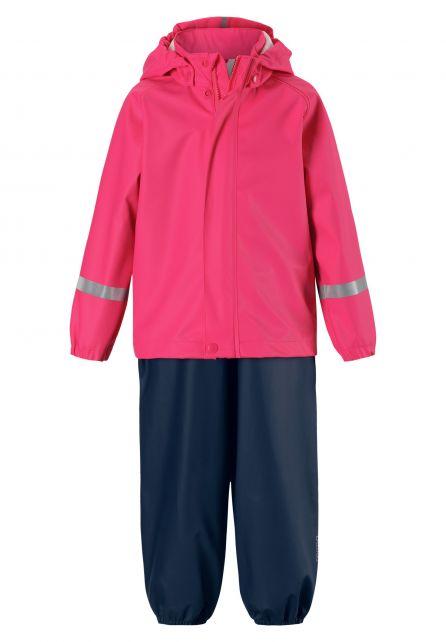 Reima---Regenanzug-für-Mädchen---Tihku---Bonbon-Pink
