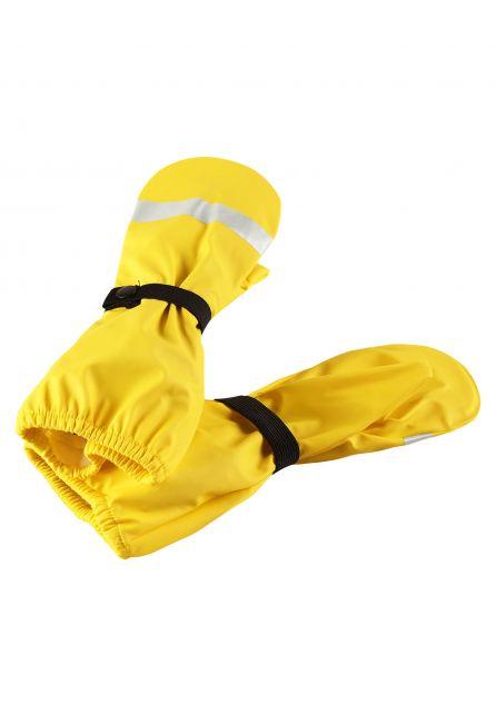 Reima---Regenfäustlinge-ohne-Futter-für-Kinder---Kura---Gelb